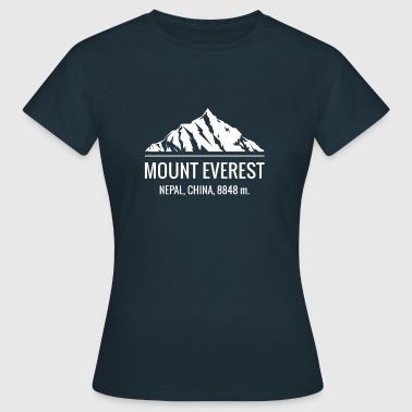 Mount Everest Hiking Climbing Shirt - Women's T-Shirt