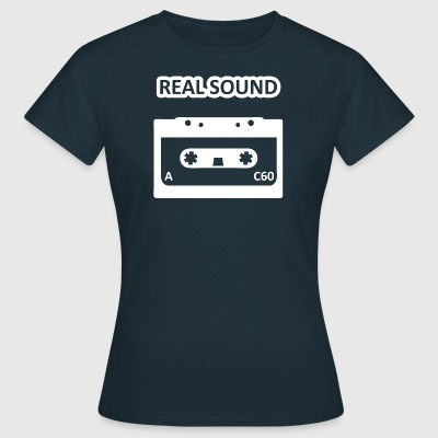 realsound wite - Women's T-Shirt