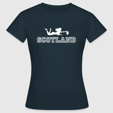 Rugby Babe Scotland - Women's T-Shirt
