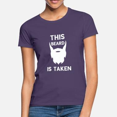 Beard Funny This beard is a gift for men - Women's T-Shirt