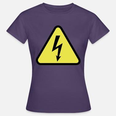 electricidad Camiseta de manga larga premium mujer  0060c674769