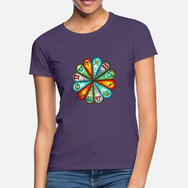 Soltecken Zodiac Flower - T-shirt dam