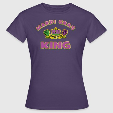 Mardi Gras King - Women's T-Shirt