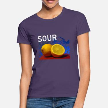 Sour Fruit sour lemons Fresh sour - Women's T-Shirt