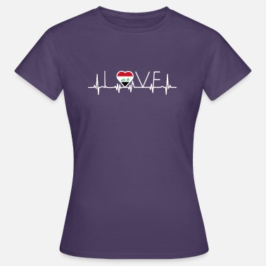 Iraqis home roots queen love from heart Iraq png - Women's T-Shirt