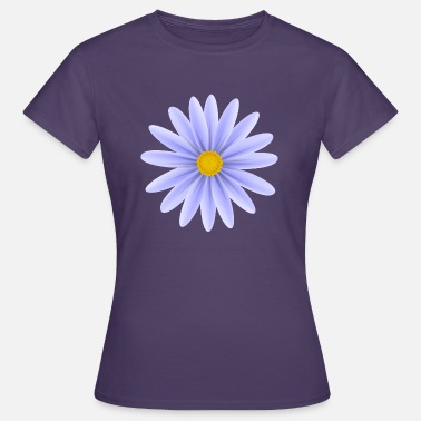 Daisy Blue Daisy Top Down - Women's T-Shirt