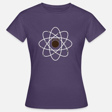 Cross Training Atom Kettlebell Cross Fit Sport Training Molecule - Women's T-Shirt