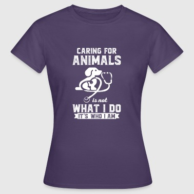Stockman Love of animals - veterinarian - stockman - poison - Women's T-Shirt