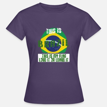 Ipanema This is Brazil - This is my flag - Women's T-Shirt