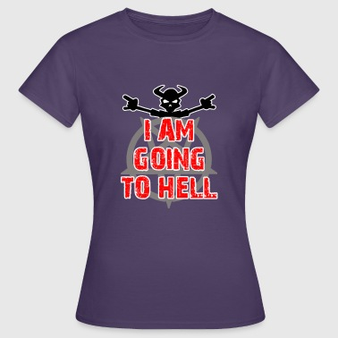 Going to hell - Woman - Dame-T-shirt