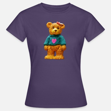 Teddy Boy Teddy bear as a gift for boys and girls - Women's T-Shirt