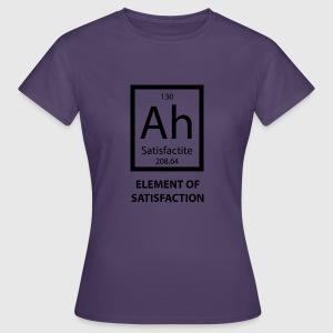 Tabla peridica ag elemento de la satisfaccin por sg design camiseta mujer urtaz Choice Image