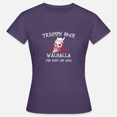 Germanic Tribes Pagan Viking Valhalla - Women's T-Shirt