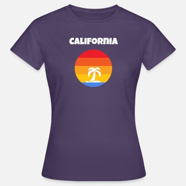 California Tropical Paradise - Vrouwen T-shirt