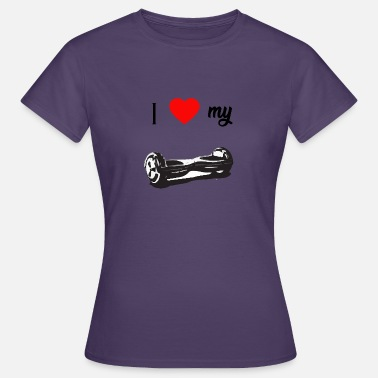 Hoverboard Hoverboard amour - T-shirt Femme