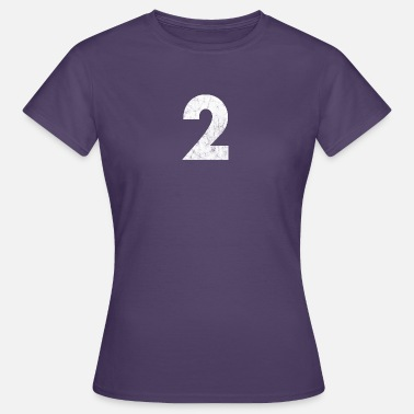 Number Number 2, Number 2, 2, two, Number two, Two - Women's T-Shirt