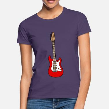 Guitarra Eléctrica Guitarra electrica guitarra electrica - Camiseta mujer