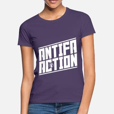 Anarkist Antifa-handling - T-shirt dame