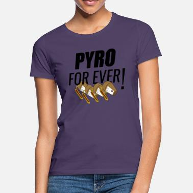 Pyro Pyro For Ever Shell Fireworks Black - Vrouwen T-shirt