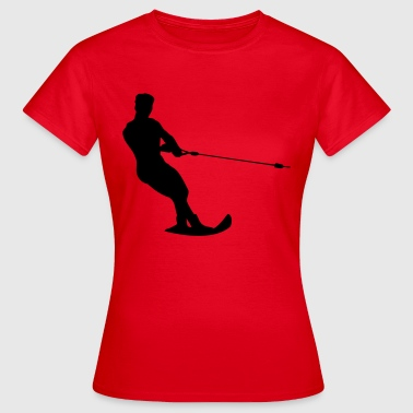 water-ski - Women's T-Shirt