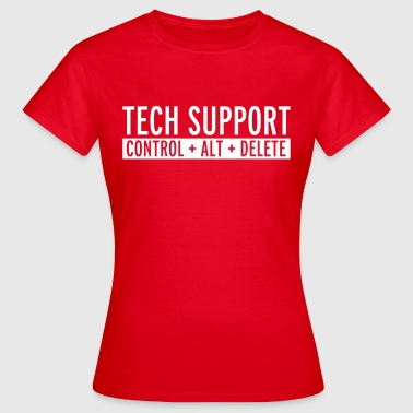 Tech Support  - T-shirt Femme