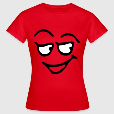 Funny Face, Cartoon Face, Trickfilm, Smiley - Frauen T-Shirt