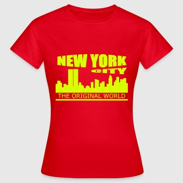 new york city - Camiseta mujer