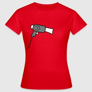 hair_dryer - Vrouwen T-shirt