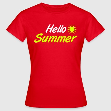 Summer Logo Summer - Women's T-Shirt