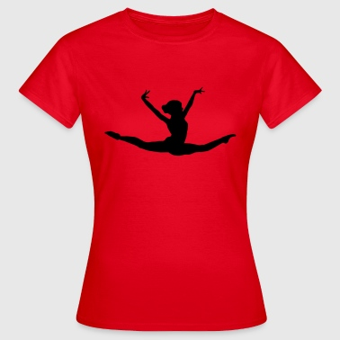 turnen, turner, turnerin, gymnastics - Frauen T-Shirt
