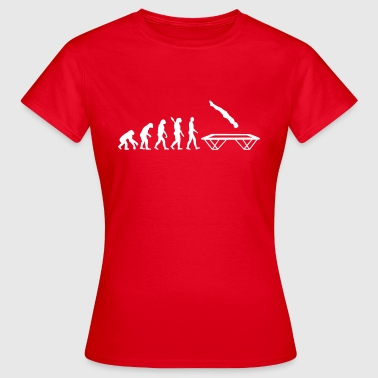 Trampolin - Frauen T-Shirt