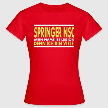 springer nsc Legion - Frauen T-Shirt
