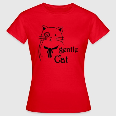 Gentle Cat - Frauen T-Shirt