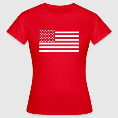 Hearts and Stripes - Frauen T-Shirt