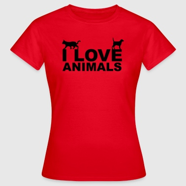 Animals - Vrouwen T-shirt