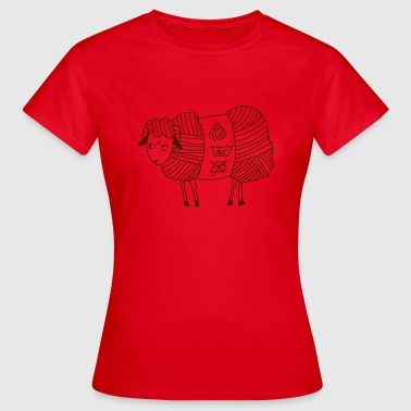 Angry Woolly Sheep - Frauen T-Shirt
