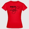 Biker Lady - Frauen T-Shirt