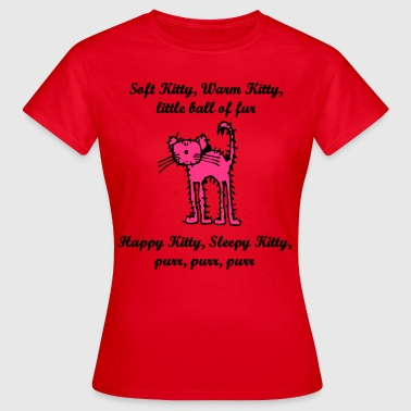 soft_kitty - Vrouwen T-shirt
