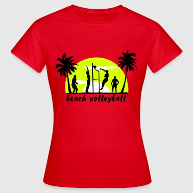 beachvolley - Dame-T-shirt