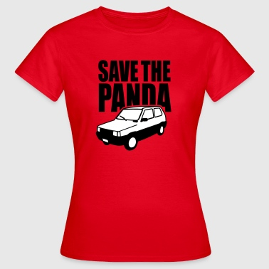 Save the Panda (Fiat Seat) - Camiseta mujer