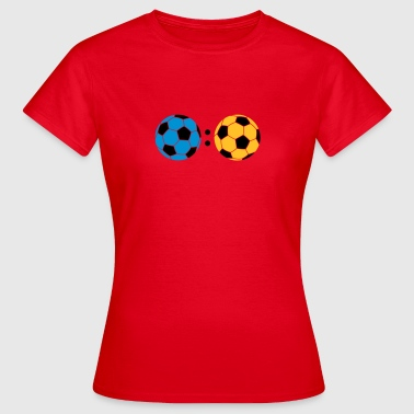ball : ball - Frauen T-Shirt