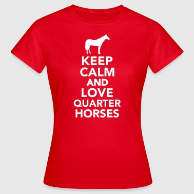 Quarter horse - Frauen T-Shirt