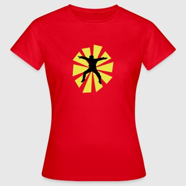 Sitflyer And Sun Rays - Women's T-Shirt