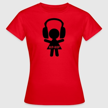 hiphop - Frauen T-Shirt