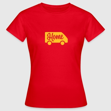 Home in a van - Autonaut.com - Frauen T-Shirt