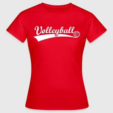 Volleybal  Volley Bal    - Vrouwen T-shirt
