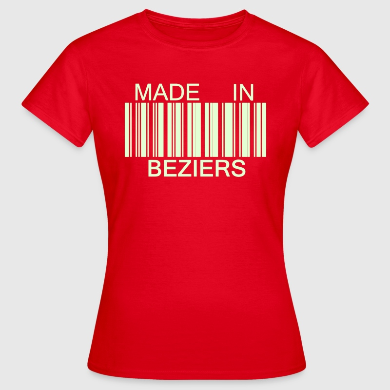 Made in Beziers 34 - T-shirt Femme