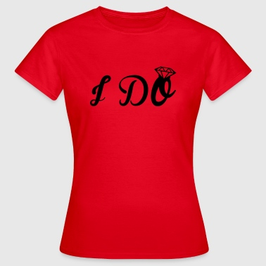 Engagement  - Dame-T-shirt