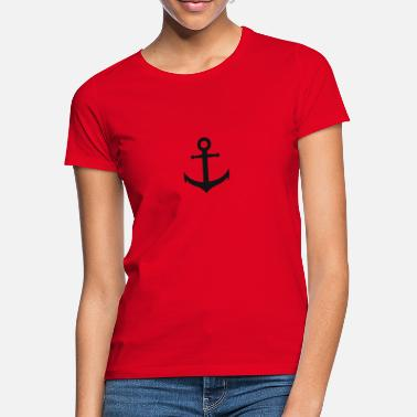 Anchor anchor, Hamburg harbor, anchor - Women's T-Shirt