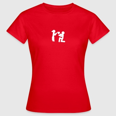 Love Piktogramm - Frauen T-Shirt